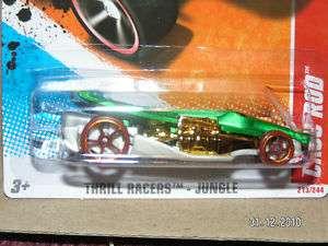 HOT WHEELS 2011 TR JUNGLE #3 CROC ROD HOTWHEELS HW