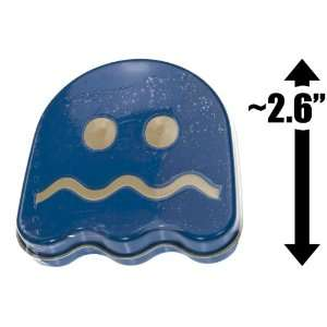 Pac Man Ghost Sours Candy Tin Box (Blue) Grocery & Gourmet Food