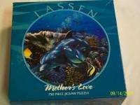 CHRISTIAN RIESE LASSEN Round Jigsaw MOTHERS LOVE