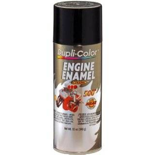 Dupli Color DE1613 Ceramic Gloss Black Engine Paint   12 oz.