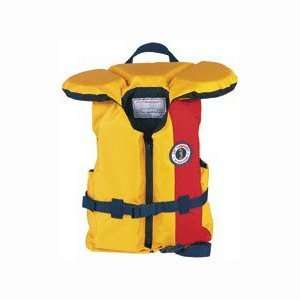 Mustang Lil Legends ChildS Floater Vest 30 50 Lbs Gd/Rd