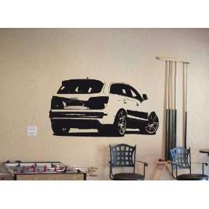 Wall MURAL Vinyl Sticker Car AUDI Q7 Q5 SPORT SUV 015