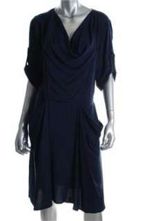 BCBG Maxazria NEW Blue Casual Dress BHFO Sale M