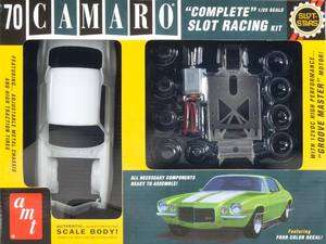 NEW AMT 1/25 1970 Chevy Camaro Concept Slot Car Race Kit SCAMT744/12