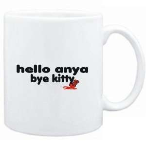 Mug White  Hello Anya bye kitty  Female Names: Sports