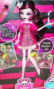 New Monster High DRACULAURA Dawn of the Dance Doll