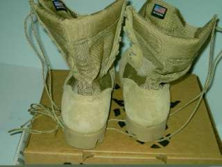 NEW ALTAMA MILITARY HOT WEATHER BOOTS SIZE 12 N Tan Desert