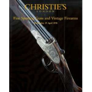 Christies London Fire Sporting Guns and Vintage Firearms