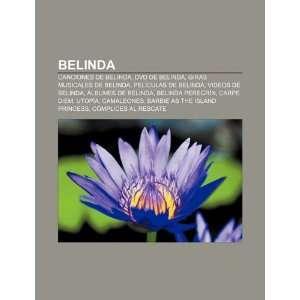 video musicales de belinda: