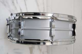 Ludwig Acrolite Snare Drum Blue Olive Badge 14 x 5