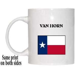 US State Flag   VAN HORN, Texas (TX) Mug