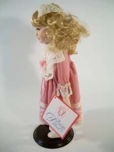 Design Debut Collection Porcelain Doll With COA 16 |