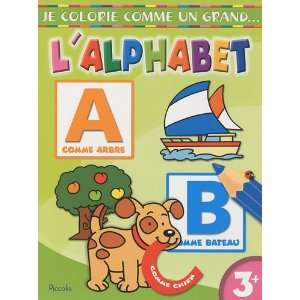 grand lalphabet (French Edition) (9782753011243): Piccolia: Books