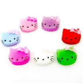 B0551 (40 pcs) Mix Hello Kitty 9MM Nail Art Resin Flatback Decals Bow