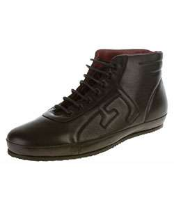 Ferre Mens Black Leather Racing Shoes (size 8.5)