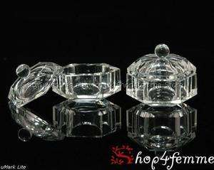 Acrylic Glass Dappen Dishes Set B