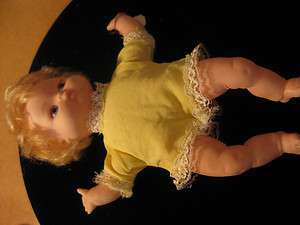 Vintage UD Co. Inc. Doll Hong Kong Toy Girl yellow baby