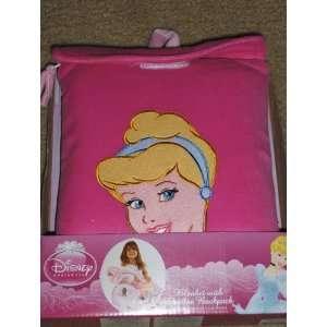 Disney Princess Cinderella Blanket with Toddler Backpack