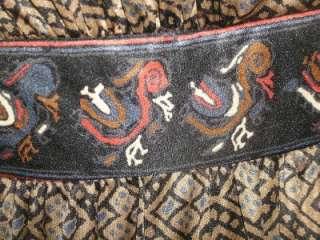 DESCRIPTION   Stunning Seventies Boho Hippy maxi dress by Vera Mont