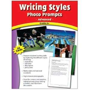: Edupress EP 3032 Writing Styles Photo Prompts Gr 6 &: Toys & Games