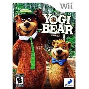 Yogi Bear Wii, Yogi Bear Video Game, Nintendo Wii Video Game