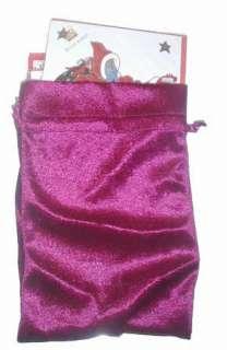 ERTE Set 5 CHRISTMAS Cards Assorted Set Velvet Bag NEW Art Deco