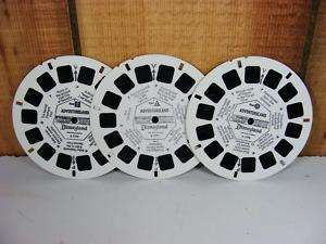 VIEW MASTER Disney ADVENTURELAND Reels Vtg A177 Set