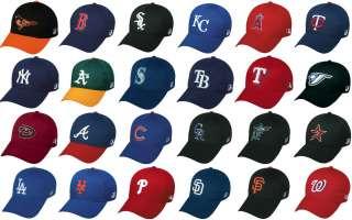 Officially Licensed MLB Team Adjustable Baseball Caps/Hats, New