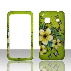Hawaiin Flowers Samsung Galaxy Precedent Straight Talk Phone