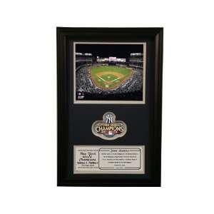 2009 New York Yankees World Series Champions STD Patch