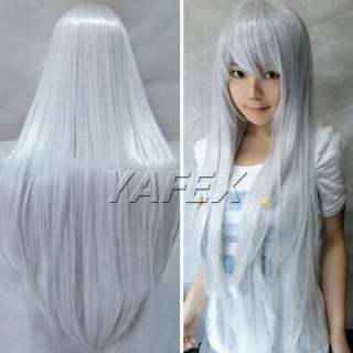 Fashion 80CM Heat Resistant Long Straight Cosplay HOT Wig Wigs hair