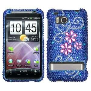 Juicy Flower Bling Case Phone Cover HTC Thunderbolt 4G