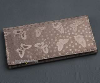 pcs in 3 color Butterfly Lady Long Wallet Purse Bag