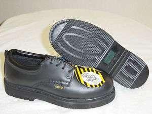Rhino Leather Postman Oxford Steel Toe Shoes 40S01