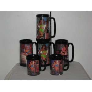 6 Vintage Snap On Tools Swimsuit Mugs: Everything Else