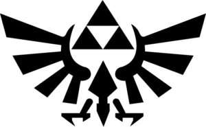 Legend of Zelda Triforce Vinyl Sticker Decal Nintendo
