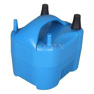 110V 680W 17000pa 2 Nozzle Balloon Inflator Electric Balloon Pump Air