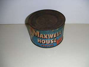 Maxwell House Coffee Can Vintage