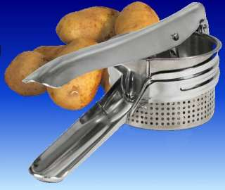 Weston Products Stainless Steel Potato Ricer 1.5 Cups