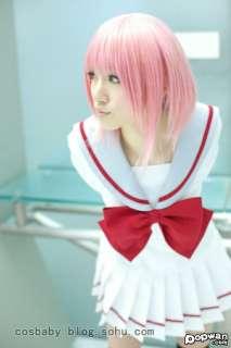 Japanese Japan School Girl Long sleeve Uniform Cosplay Costume New 006