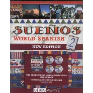 Suenos World Spanish 2 (Book & CD) (pt. 2) (9780563519140