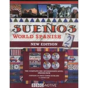 Suenos World Spanish 2 (Book & CD) (pt. 2) (9780563519140