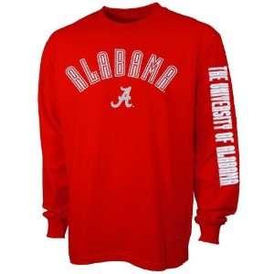 Alabama Crimson Tide Big Hit Crimson Long Sleeve T shirt