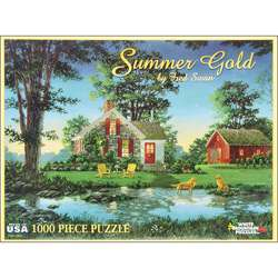Fred Swan Summer Gold 1000 pc Jigsaw Puzzle