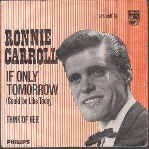 IF ONLY TOMORROW 7 INCH (7 VINYL 45) UK PHILIPS 1962