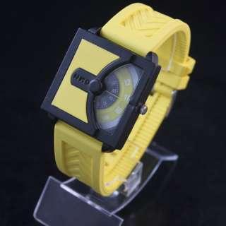 Ladies Womens Mens Unisex Silicone Quartz Wrist Watch Watches
