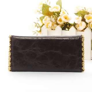 new fashion long lady women clutch Wallet/Purse button