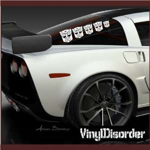 Family Decal Set Transformers Stick People Car or Wall Vinyl Decal