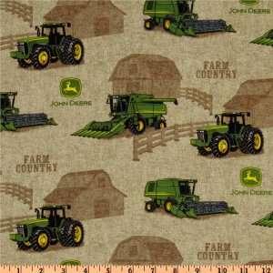 44 Wide John Deere Everyday Country Farm Tractor Scene
