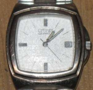 Mens Citizen Quartz Wrist Watch